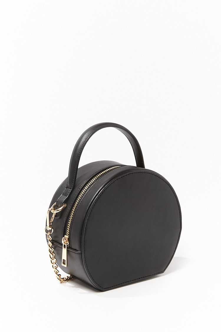 Forever 21 Faux Leather Structured Crossbody Bag