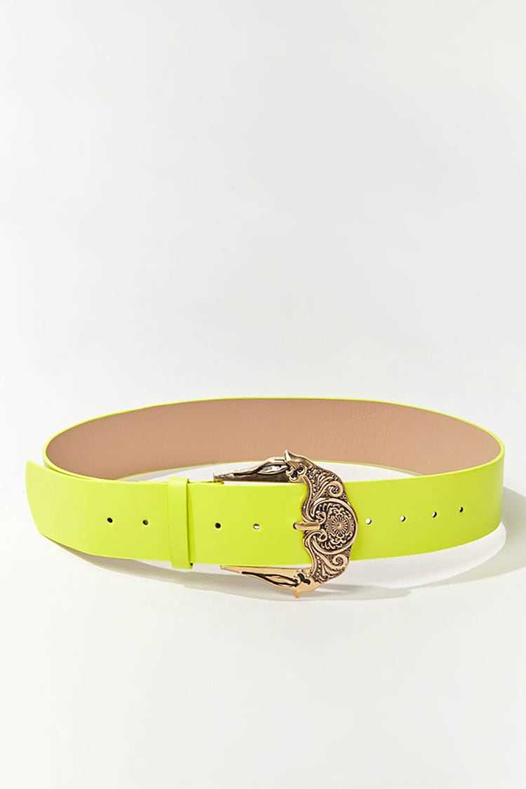 Forever 21 Faux Leather Wide Waist Belt