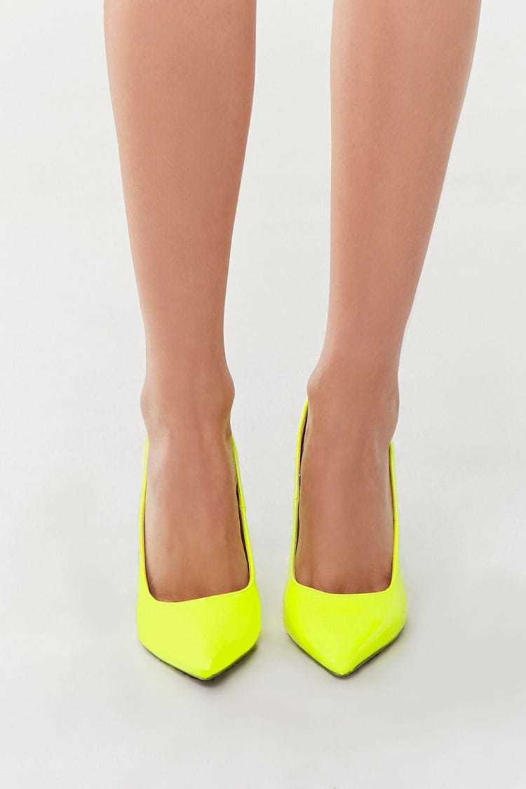 Forever 21 Faux Patent Leather Pumps