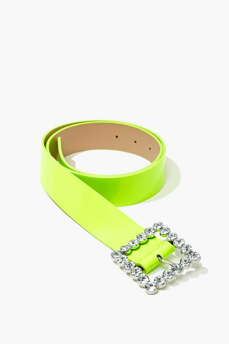 Forever 21 Faux Patent Leather Waist Belt