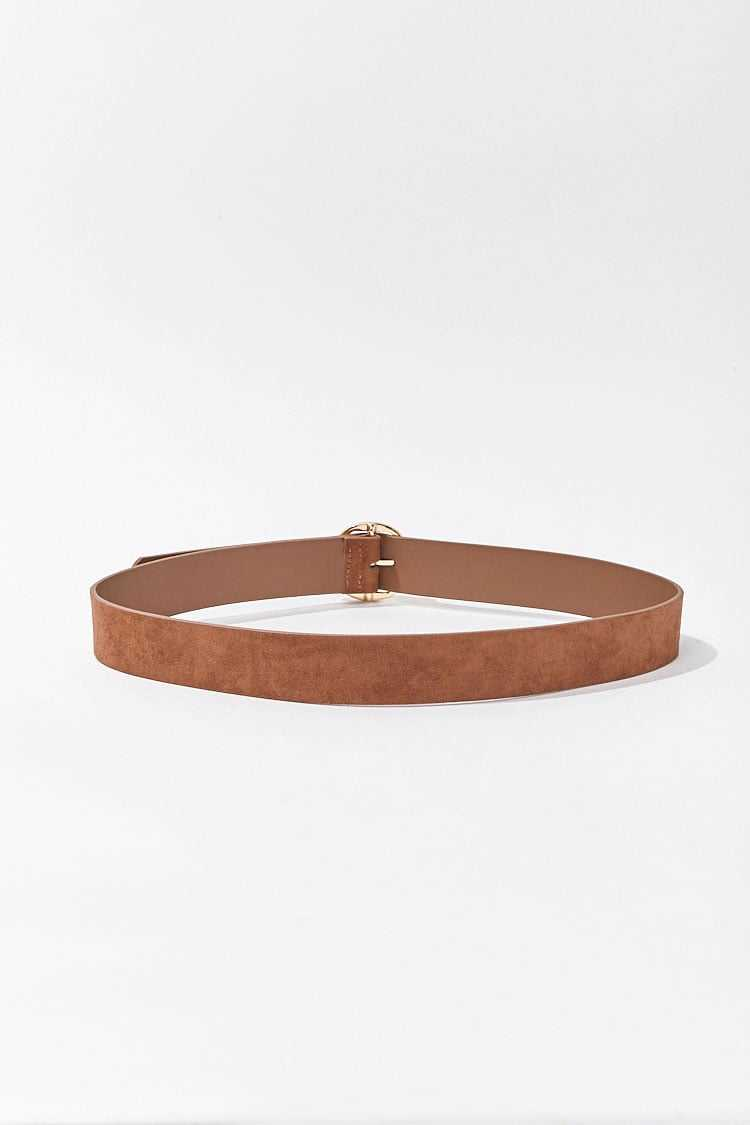 Forever 21 Faux Suede O-Ring Belt