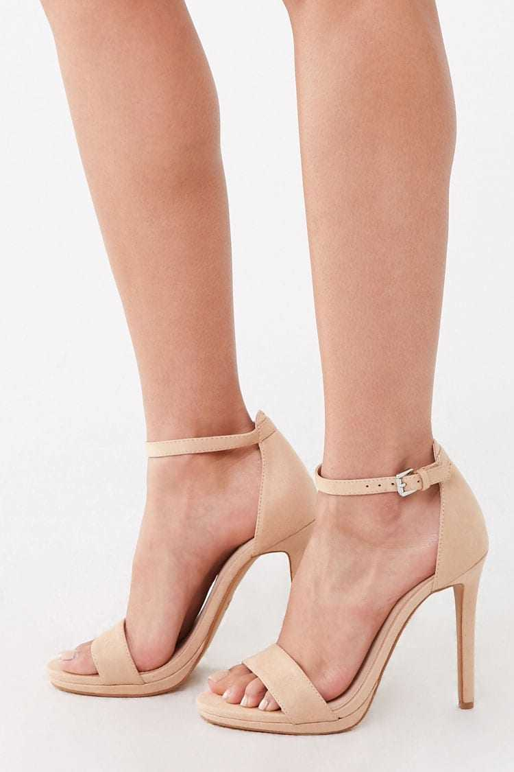 Forever 21 Faux Suede Stiletto Heels