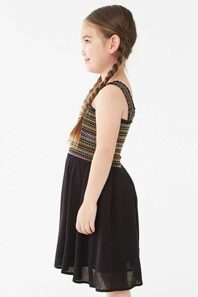 Forever 21 Girls Smocked Dress (Kids)