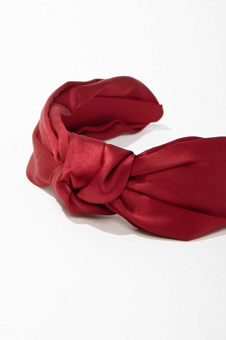 Forever 21 Knotted Satin Headband