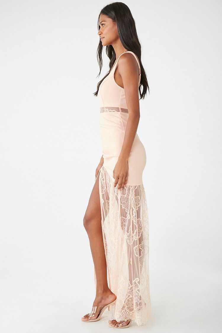 Forever 21 Lace Maxi Gown