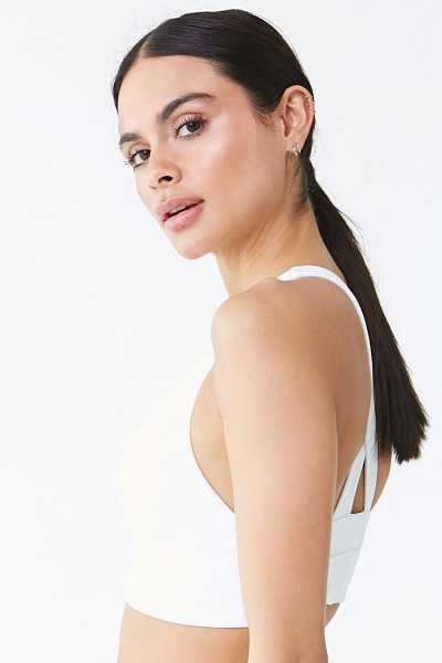 Forever 21 Low Impact - Cutout Sports Bra