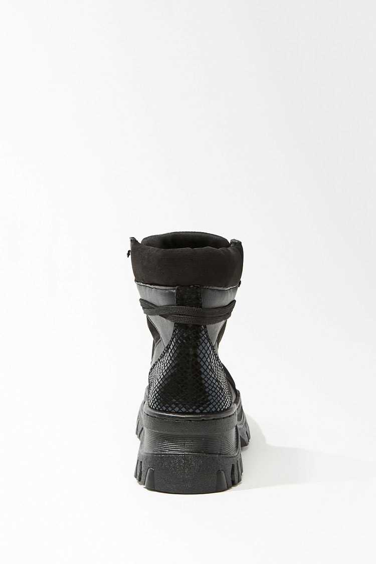 Forever 21 Lug Sole Ankle Boots