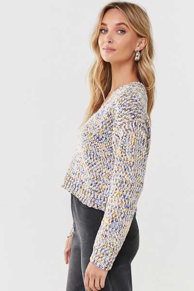Forever 21 Marled Chenille Sweater