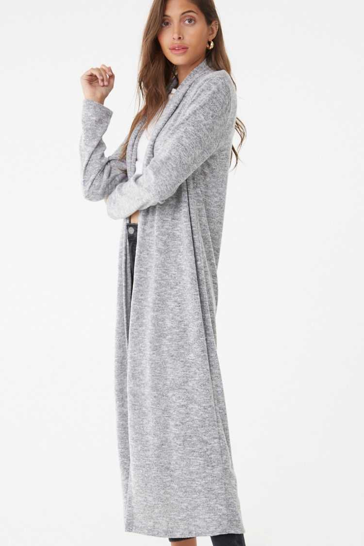 Forever 21 Marled Duster Cardigan