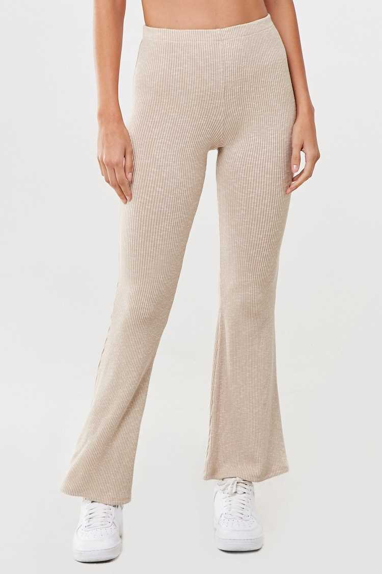 Forever 21 Marled Flare Pants