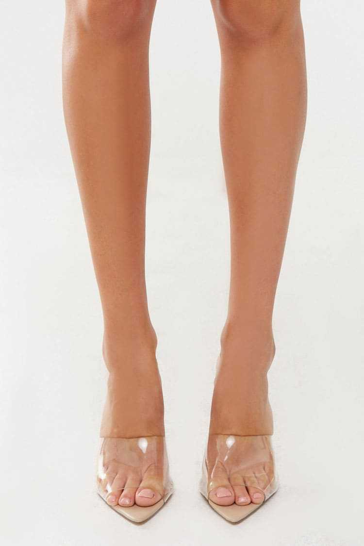 Forever 21 Open Toe Mules
