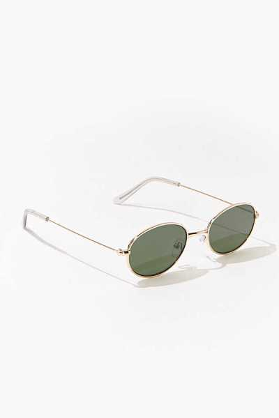 Forever 21 Oval Tinted Sunglasses