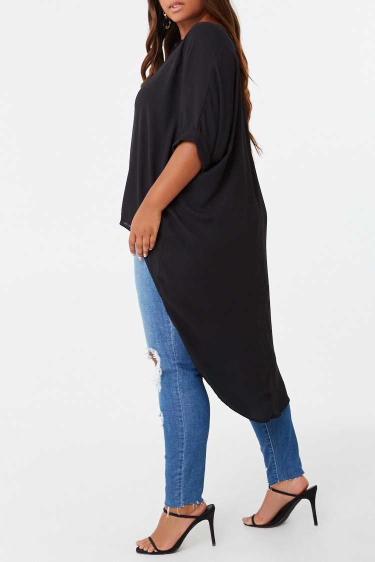 Forever 21 Plus Size High-Low Top
