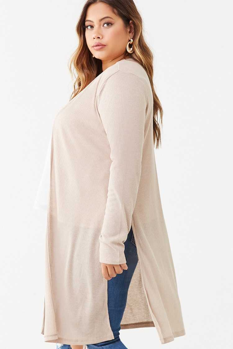 Forever 21 Plus Size Ribbed Cardigan
