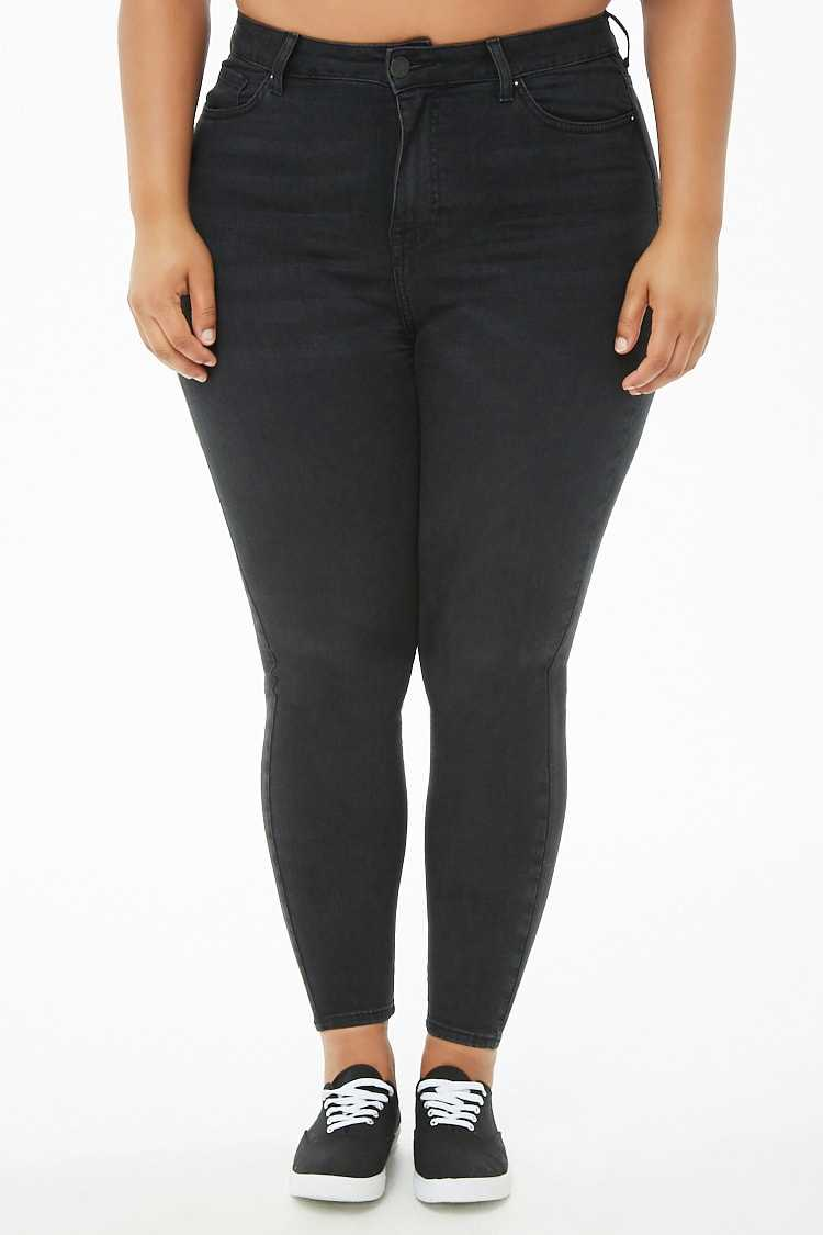 Forever 21 Plus Size Sculpted Super Skinny Jeans