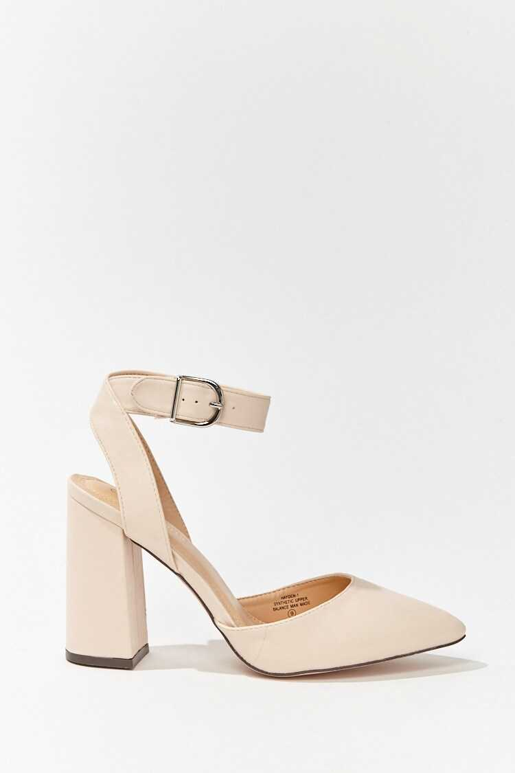 Forever 21 Pointed Toe Block Heels