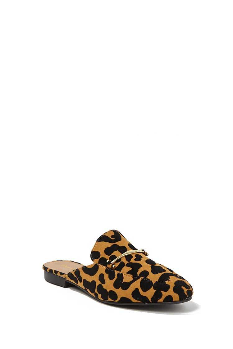 Forever 21 Qupid Leopard Print Loafers