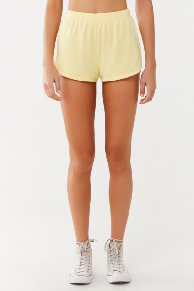 Forever 21 Raw-Cut Terry Cloth Shorts