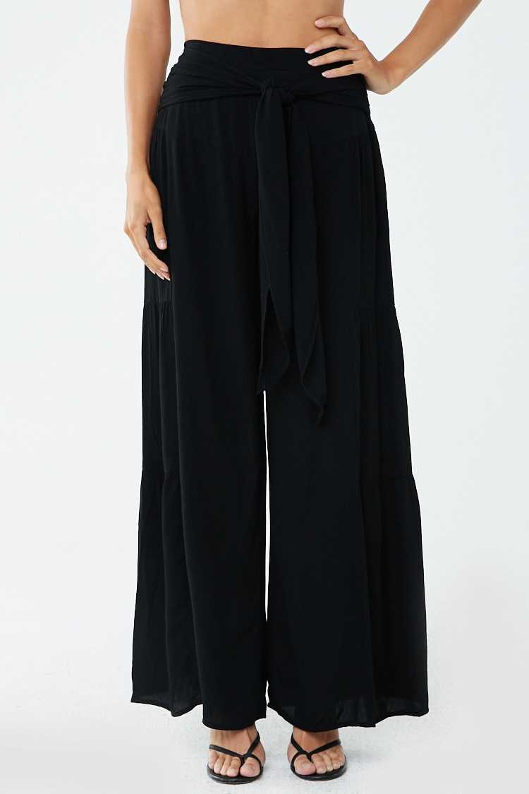 Forever 21 Self-Tie Palazzo Pants