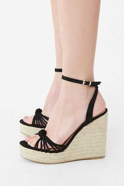 Forever 21 Strappy Knotted Espadrille Wedges