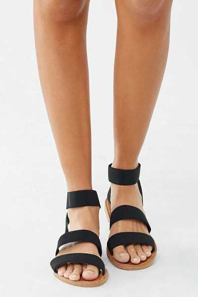 Forever 21 Strappy Open Toe Sandals