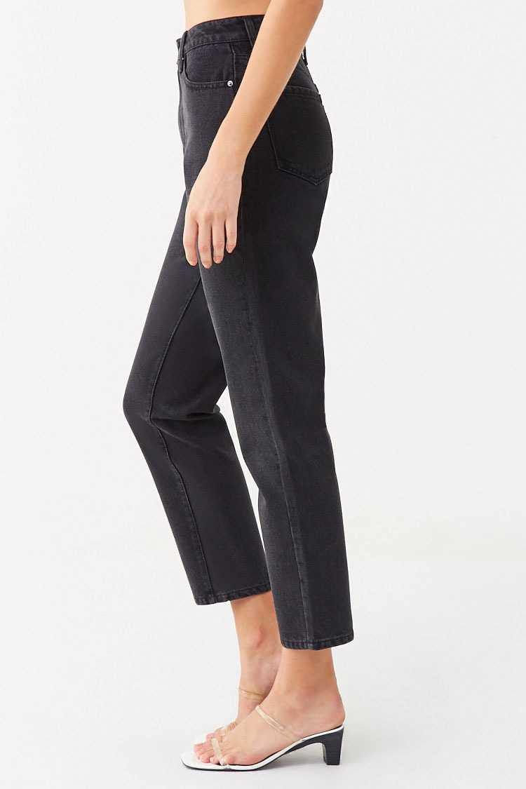 Forever 21 Tapered High-Rise Jeans
