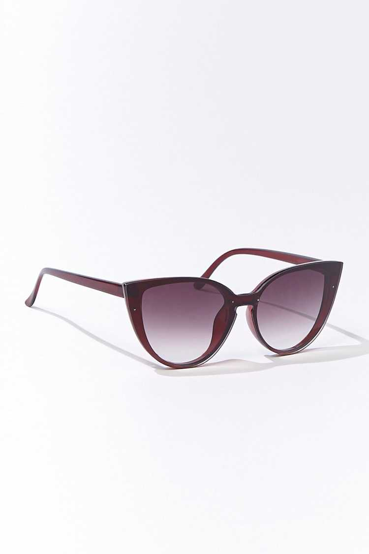 Forever 21 Tinted Cat-Eye Sunglasses