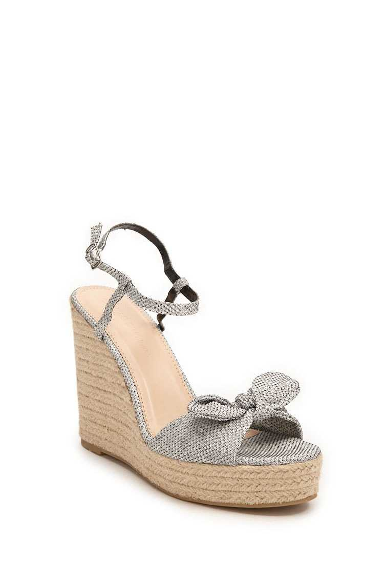 Forever 21 Tweed Espadrille Wedges