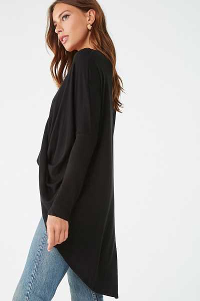 Forever 21 Twisted Surplice Tunic