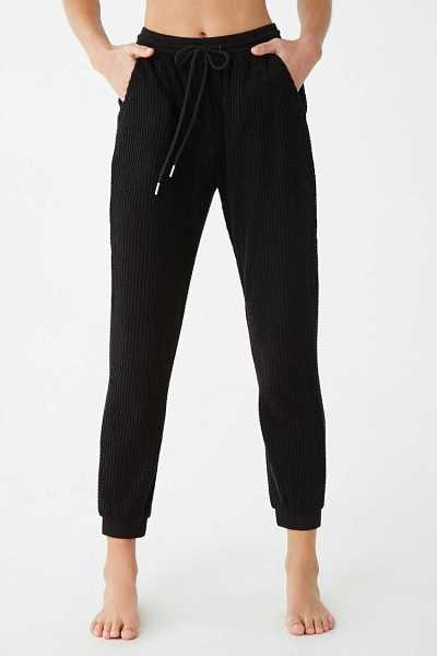 Forever 21 Waffle Knit Joggers