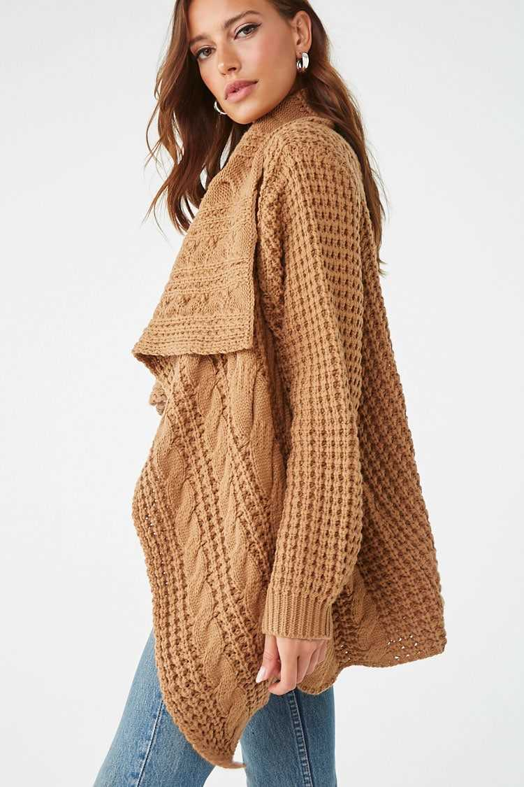 Forever 21 Wide Lapel Cardigan