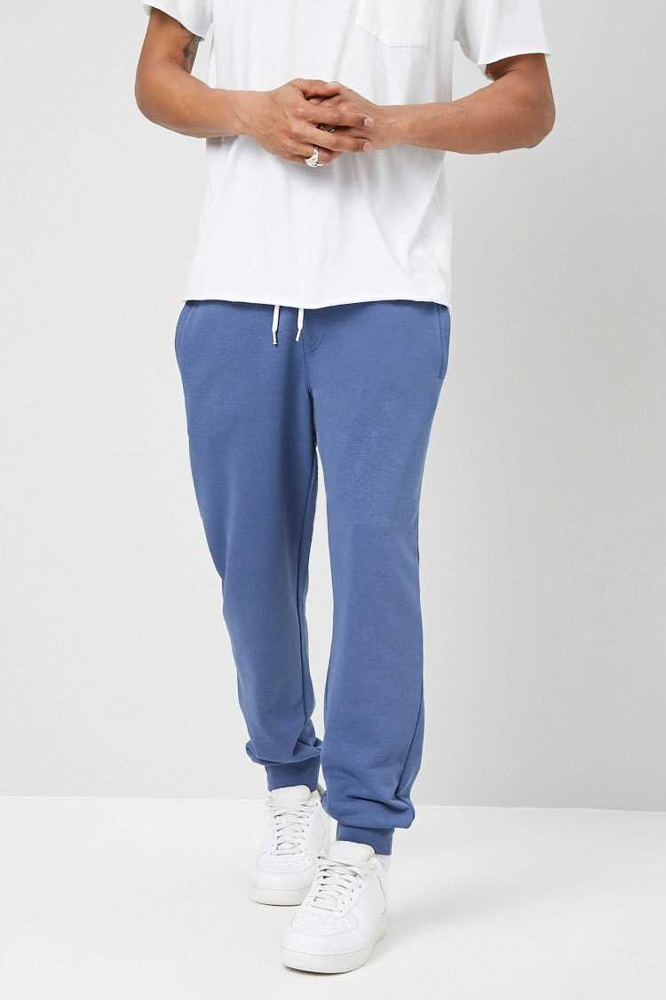 French Terry Drawstring Joggers at Forever 21