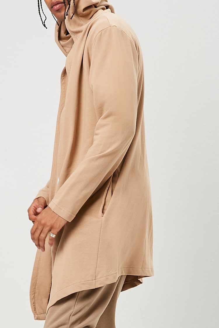 French Terry Shawl Cardigan at Forever 21