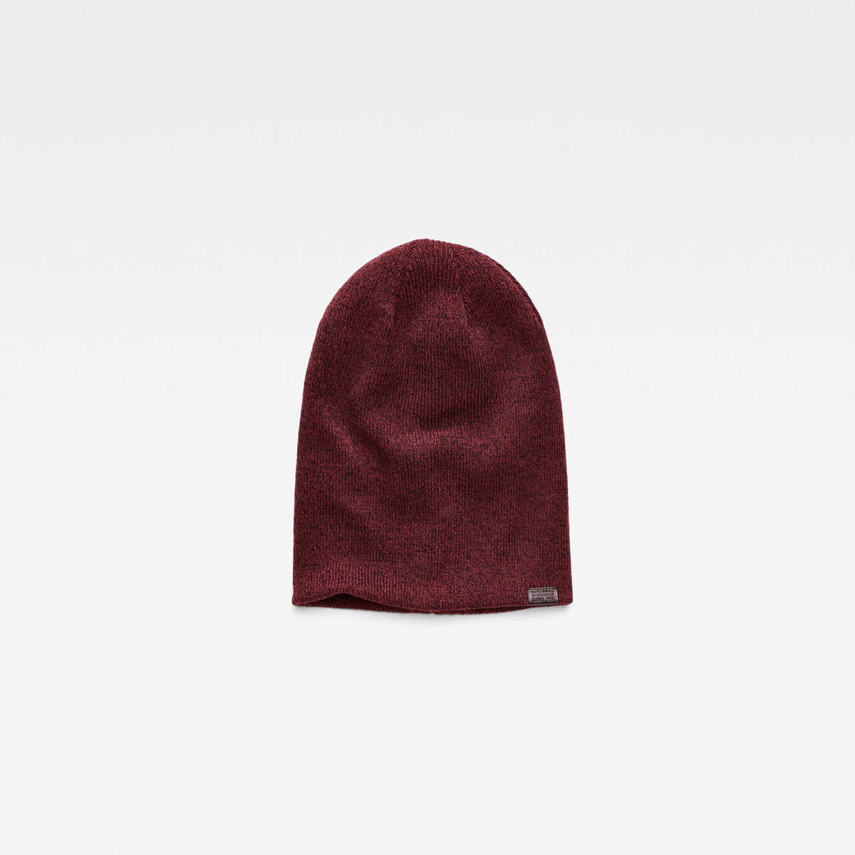 G-Star Male Effo Long Heather Beanie Accessories Red USA - GOOFASH - Mens HATS