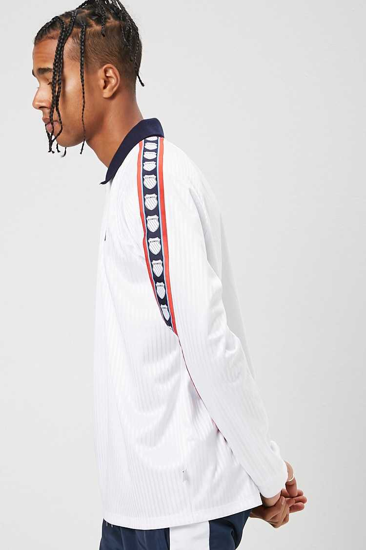 K-Swiss Graphic Polo Shirt at Forever 21
