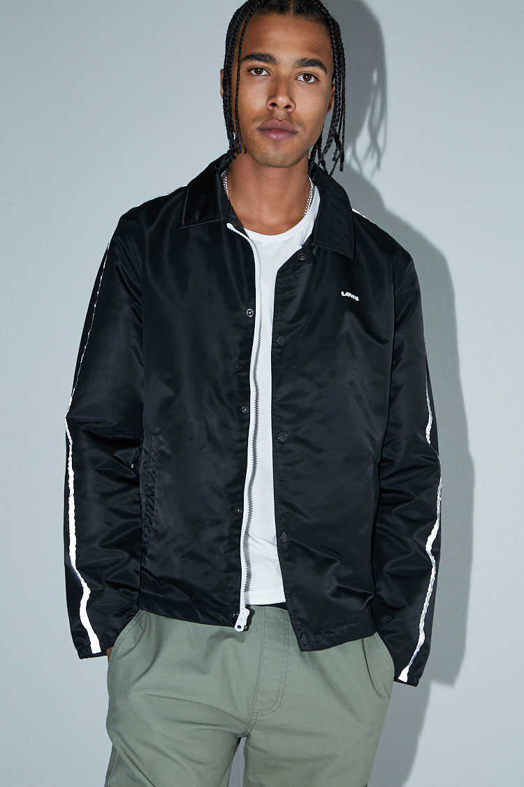 Levis Flight Coaches Jacket at Forever 21