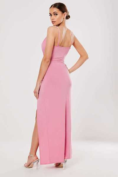 Missguided Cowl Neck Maxi Dress at Forever 21