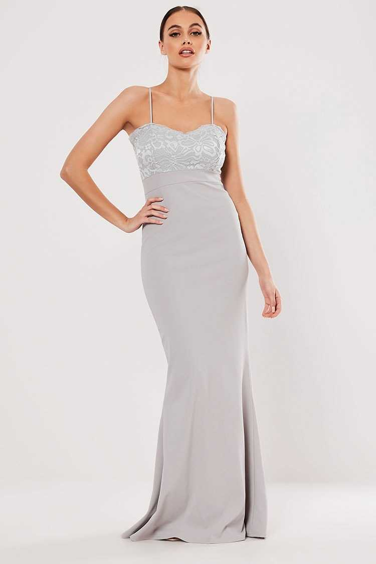 Missguided Sweetheart Lace Gown at Forever 21