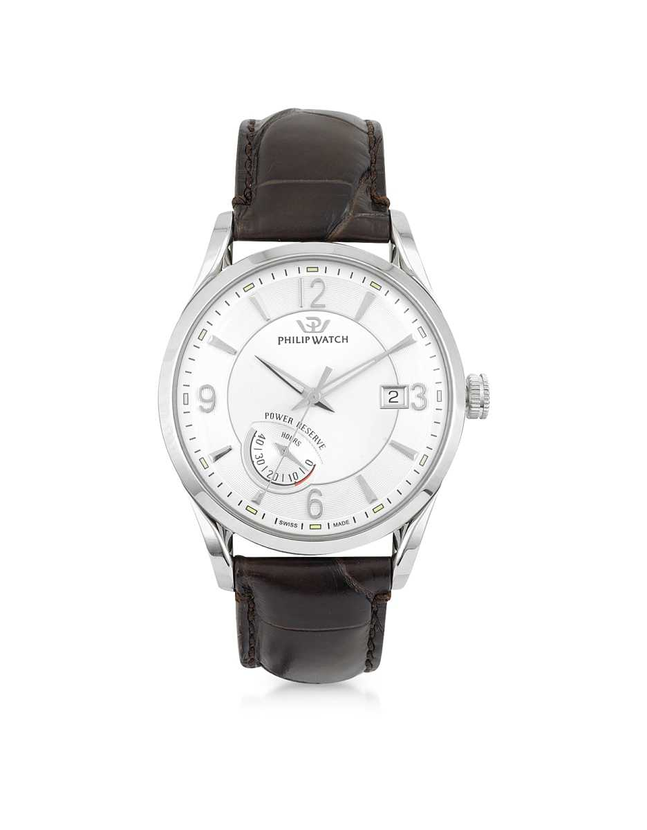 Philip Watch  Men's Watches Heritage Sunray Automatic Men's Watch Silver USA - GOOFASH - Mens WATCHES