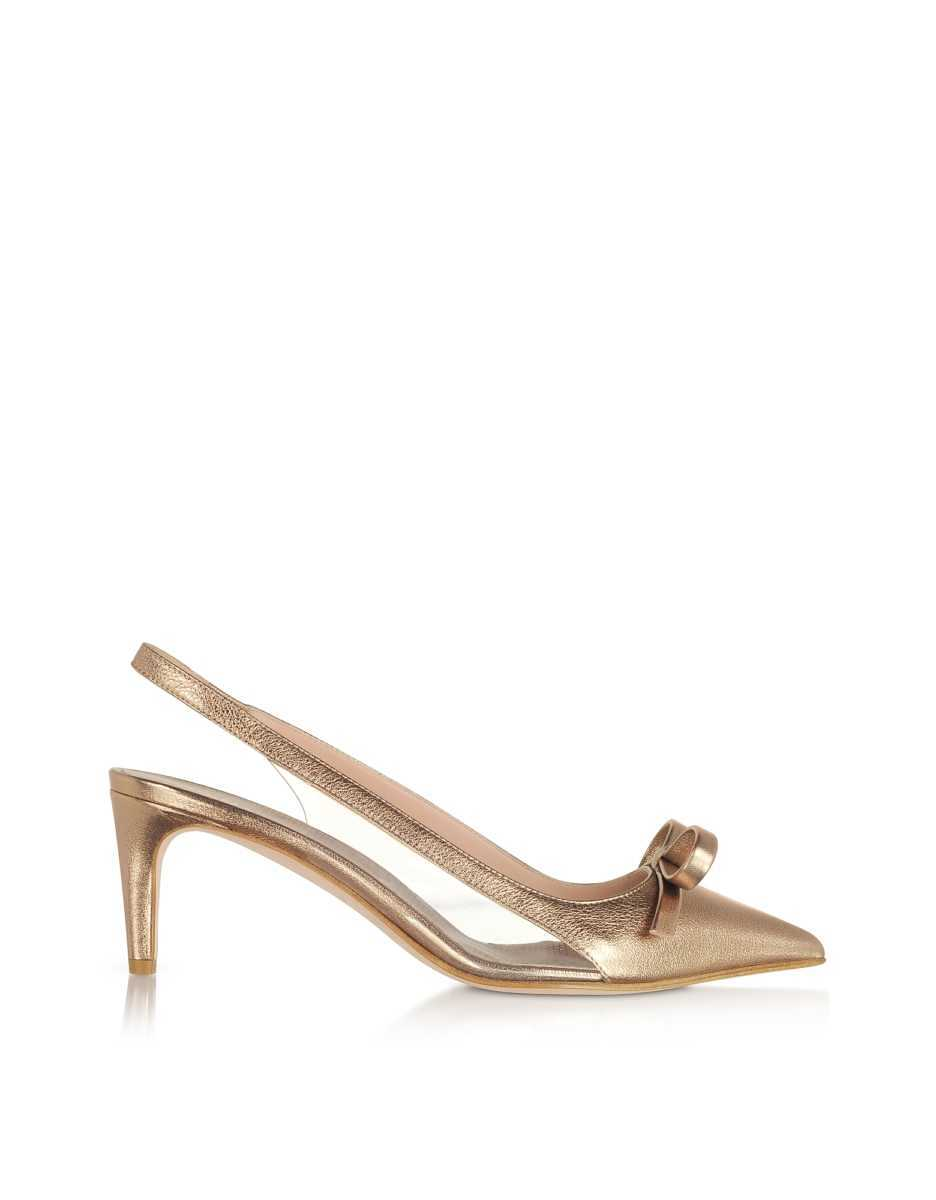 RED Valentino  Shoes Light Nude Sandie Slingback Pumps Nude USA - GOOFASH - Womens PUMPS
