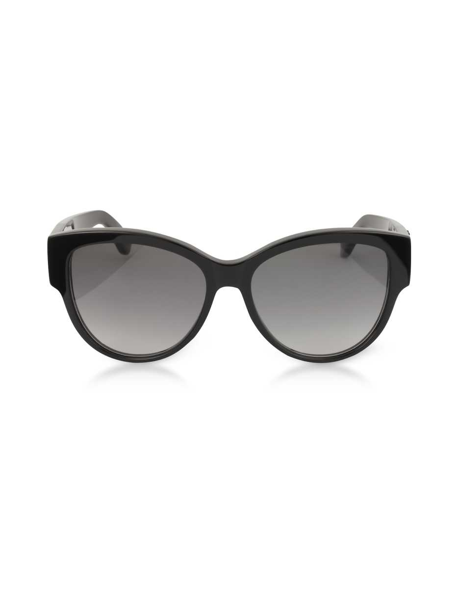Saint Laurent  Sunglasses SL M3 Round Black Acetate Frame Women's Sunglasses Black