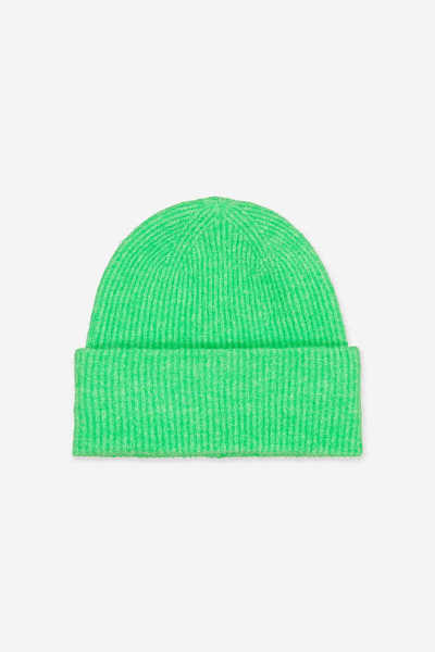 Samsoe & Samsoe NL - Nor Hat - Irish Green Mel. - GOOFASH - Womens HATS