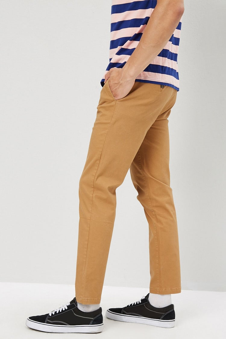 Slim-Fit Chino Pants at Forever 21