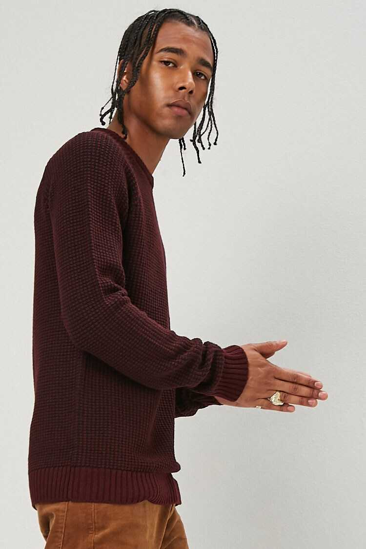 Thermal Knit Sweater at Forever 21