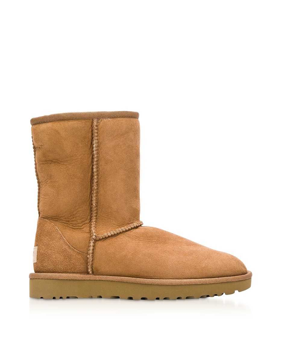 UGG  Shoes Classic Short II Chestnut Boots Chestnut USA - GOOFASH - Womens BOOTS