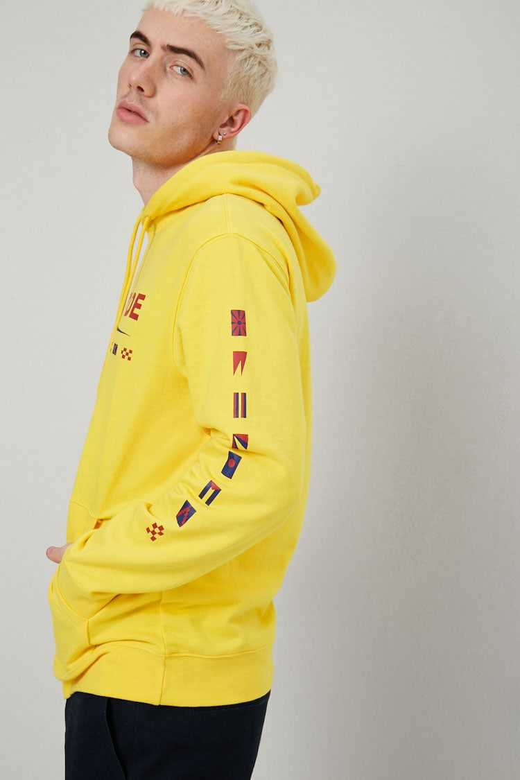 Worldwide Graphic Hoodie at Forever 21