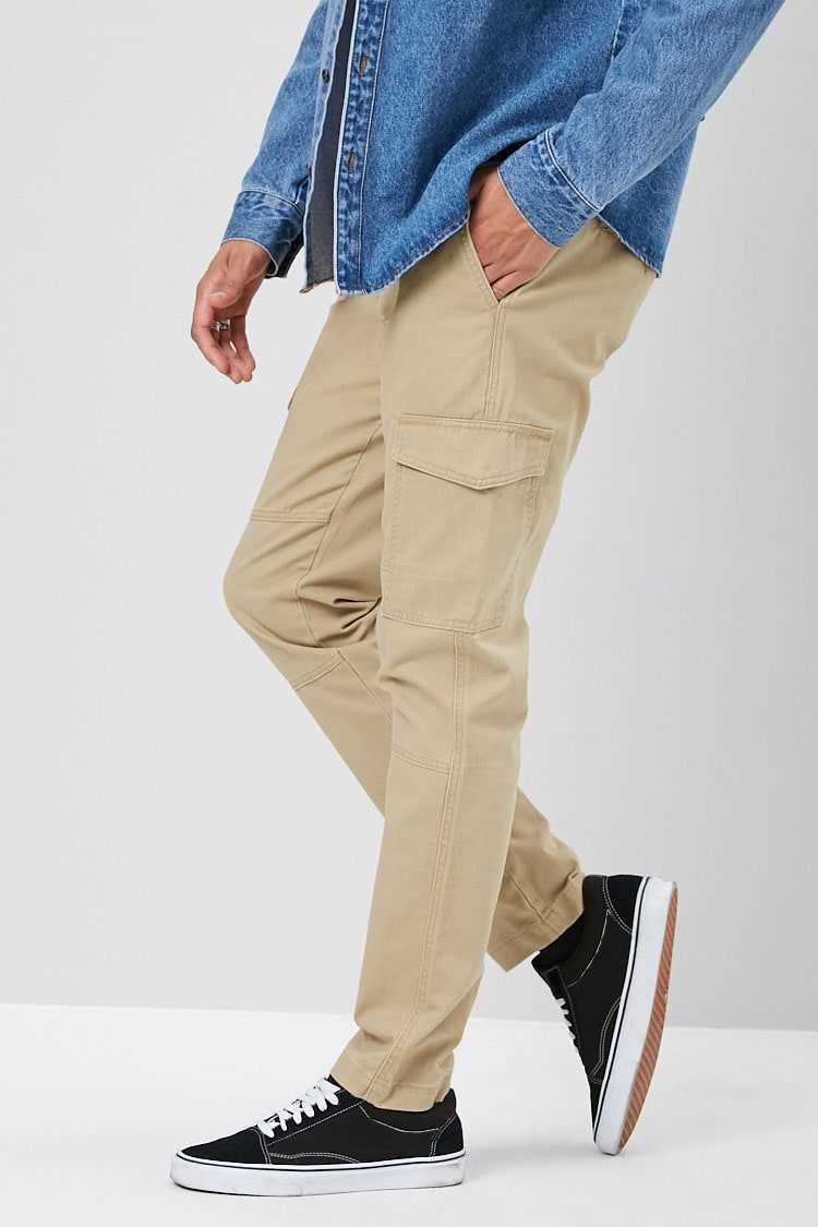 Woven Cargo Pants at Forever 21