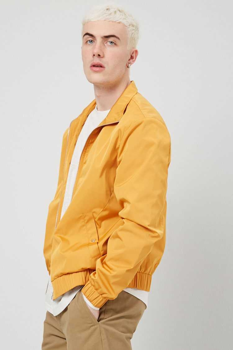 Zip-Front Jacket at Forever 21