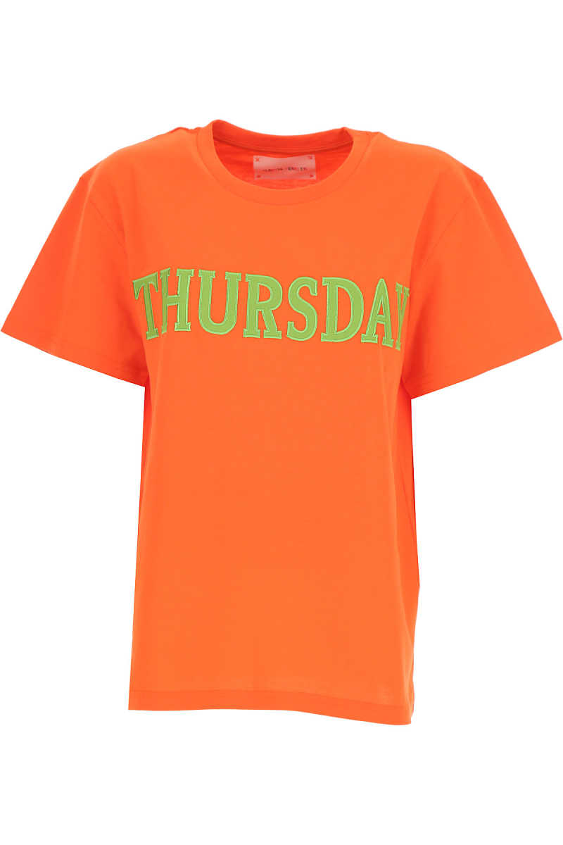 Alberta Ferretti T-Shirt for Women On Sale Orange DK - GOOFASH - Womens T-SHIRTS