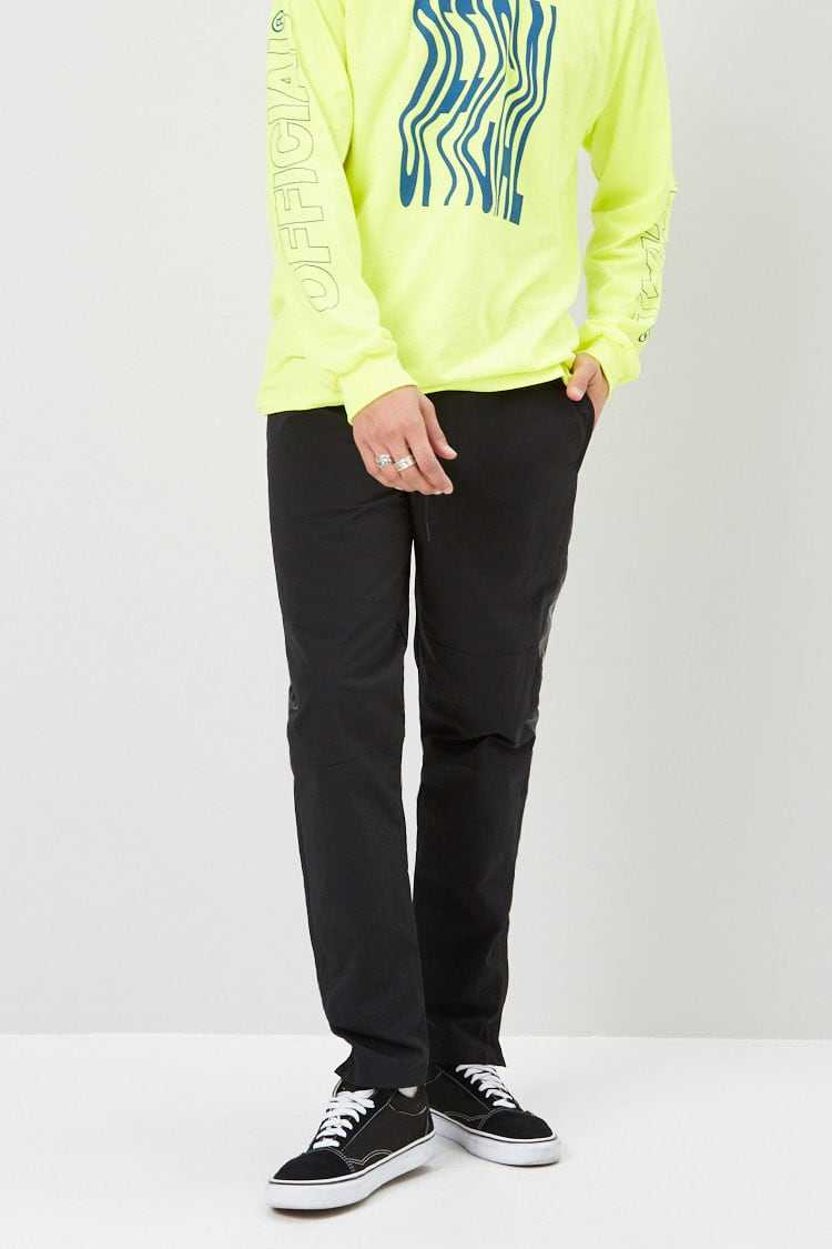 Ankle-Zip Track Pants at Forever 21